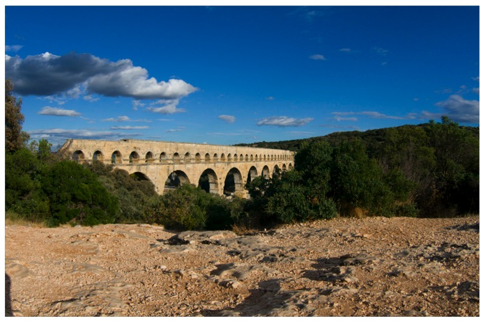 Pont du gard, in der Nähe von Avignon