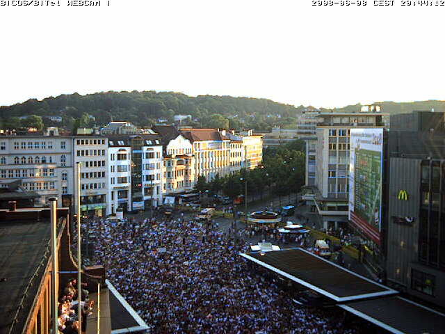 Webcam zum Anstoss